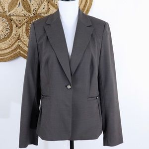 Banana Republic Factory light brown career blazer
